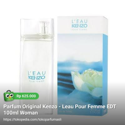 toko parfum asli parfum original kenzo leau pour femme edt 100ml woman