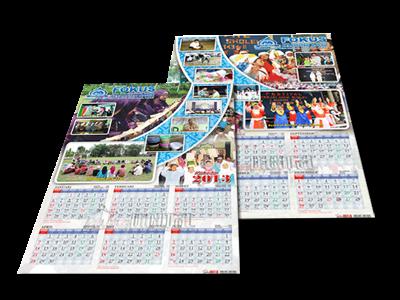 Desain Kalender 6 Bulan (Semester) - Gubug Gallery