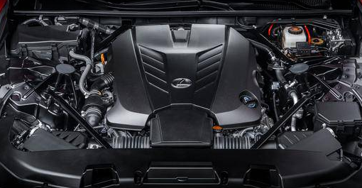 2017 Lexus LC 500 Engine