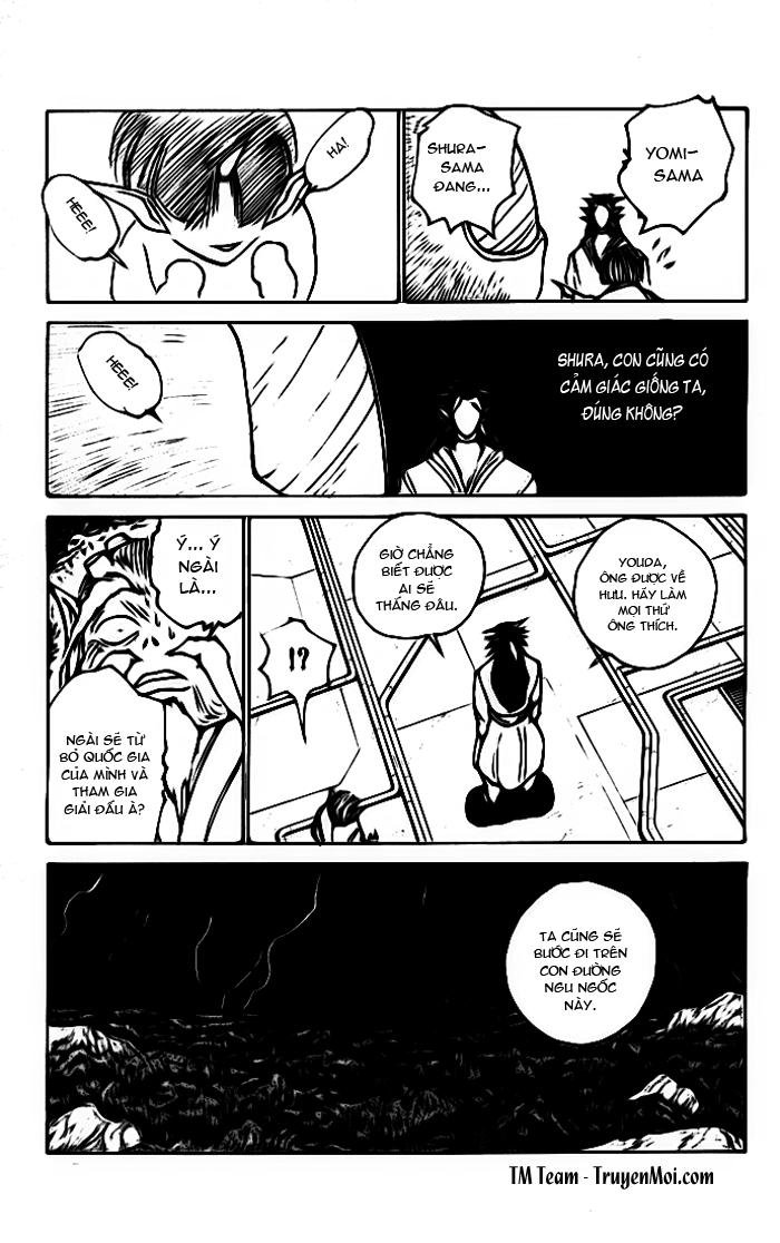 Hành trình của Uduchi chap 165: khách viếng thăm! trang 18