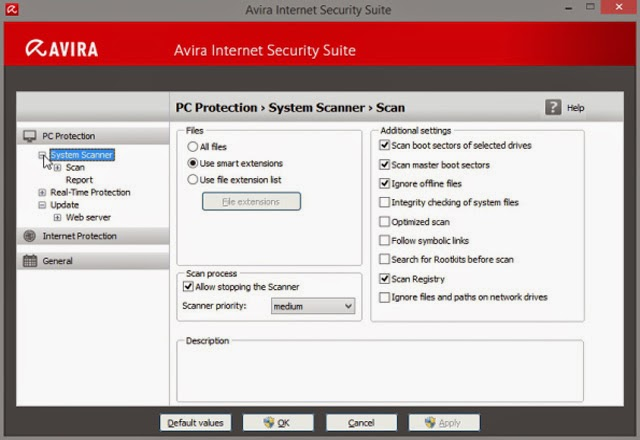 Avira Internet Security 2019 14.0.5 Full Version With Serial Key Free Download