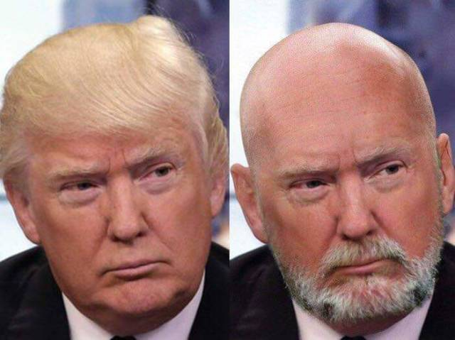 Donald Trump careca