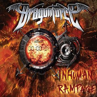 Pochette de DragonForce - Inhuman Rampage