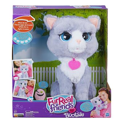 TOYS : JUGUETES - Furreal Friends - Bootsie : Gata Mascota Electrónica Interactiva Producto Oficial 2016 | Hasbro B5936 | A partir de 4 años Comprar en Amazon España & buy Amazon USA