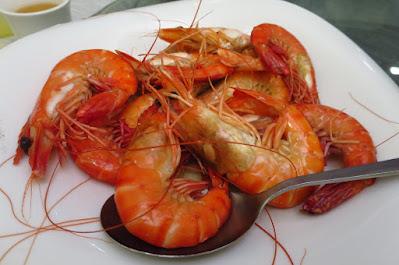 Chin Huat Live Seafood, prawns