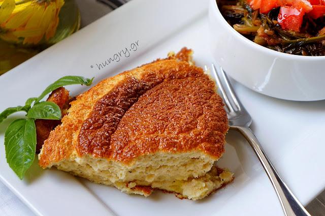 Fish Soufflé & Spinach Sauté