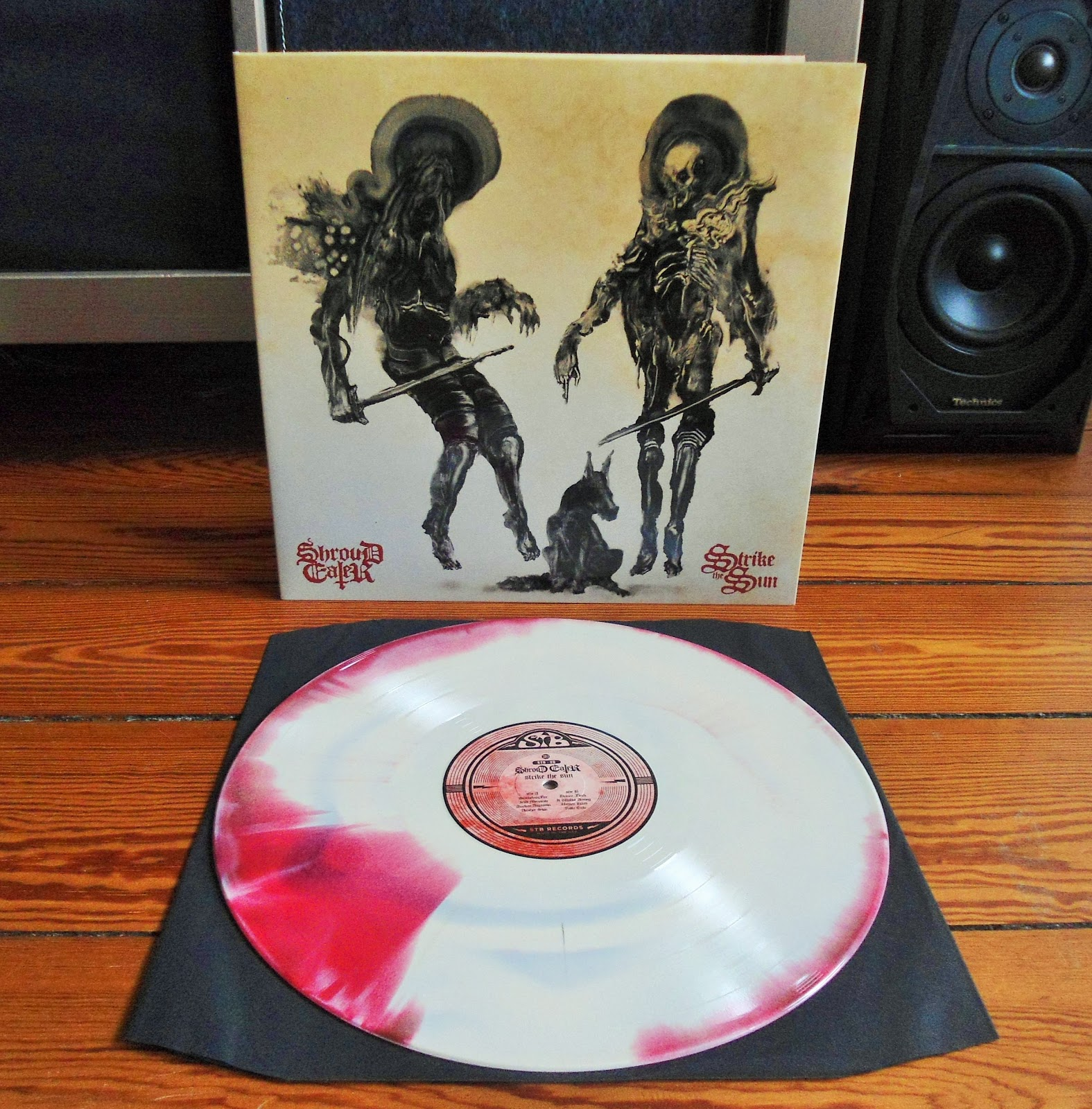 sun strike Strike the sun by shroud eater - stb-26, released 07 july 2017 1 smokeless fire 2 iron mountain 3 awaken assasin 4 another skin 5 dream flesh 6 it walks among 7 unseen hand 8 futile exile test press - limited to 15 units hand numbered special stb records wax seal alternate art work in pvc envelope style sleeve die hard edition - limted to 100 units.
