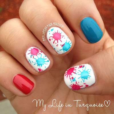 Splish-Splash-Nail-Art