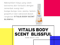 Review Vitalis Body Scent Blissful