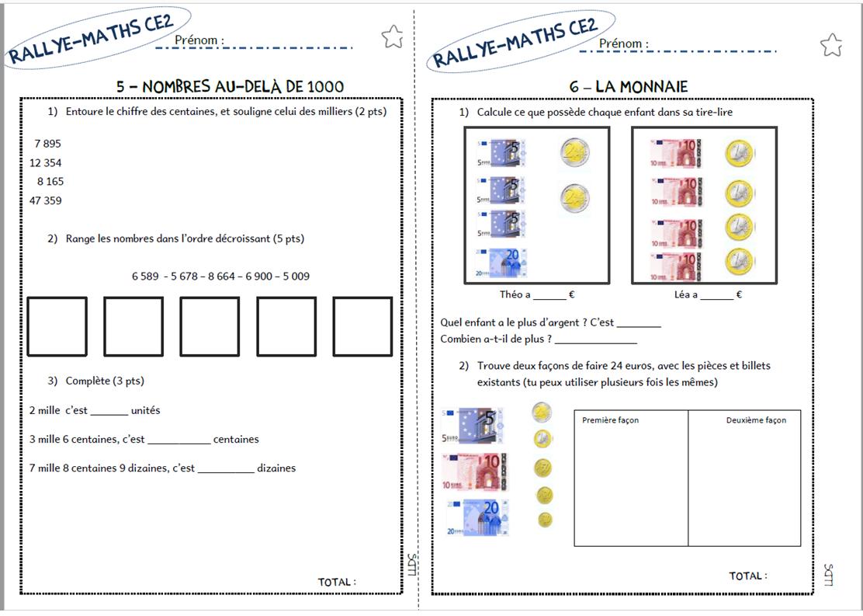 Exceptionnel Le Livre de Sapienta: Rallye-maths CE2 DV81