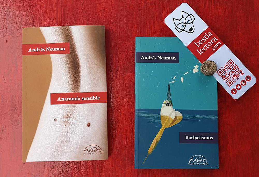 «Anatomía sensible» de Andrés Neuman una de las lecturas para este otoño