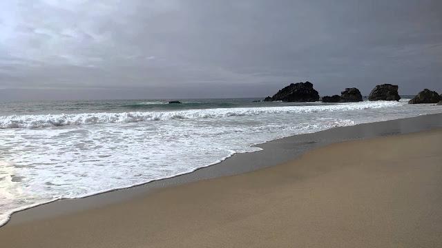 Spiaggia di Adraga a Sintra