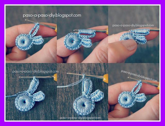 tejer fácil flores al crochet