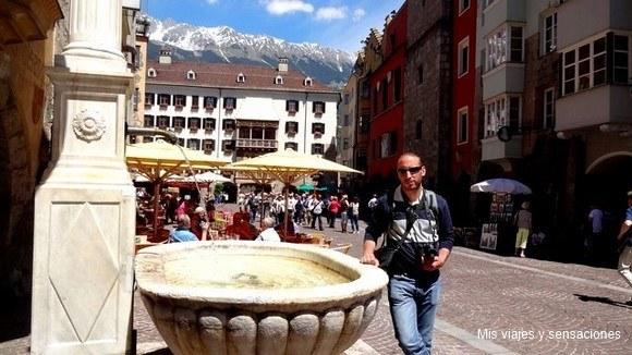Centro histórico de Innsbruck, Tirol, Austria