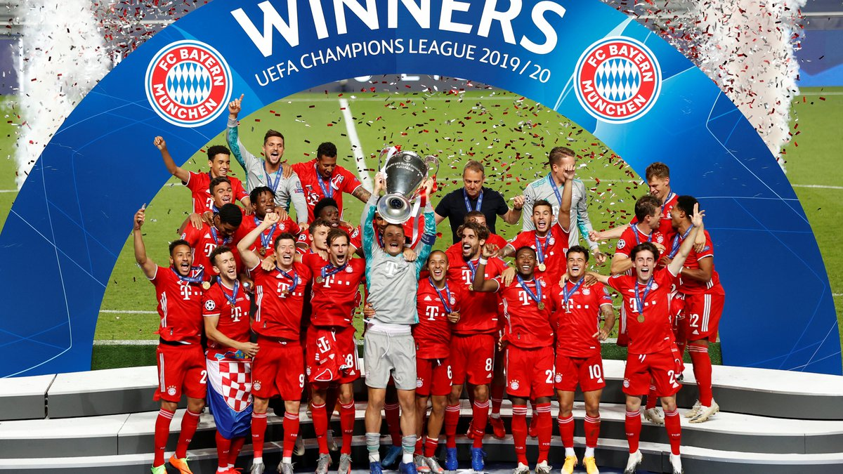 Bayern Munich campeon de la Champions League