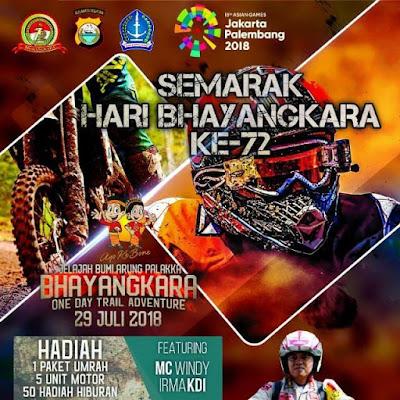 Ratusan Racer Akan Ikuti Jelajah Bumi Arung Palakka Bhayangkara One Day Trail Advendture