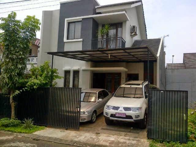 Inspirasi 12 Desain Rumah 2 Lantai Garasi 2 Mobil