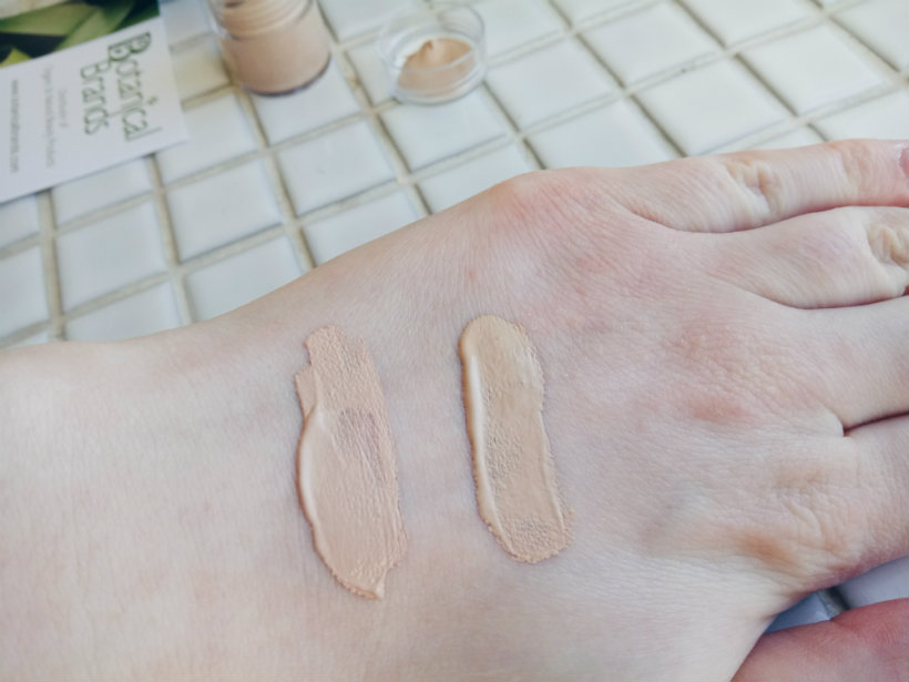 Living Nature Base Swatches