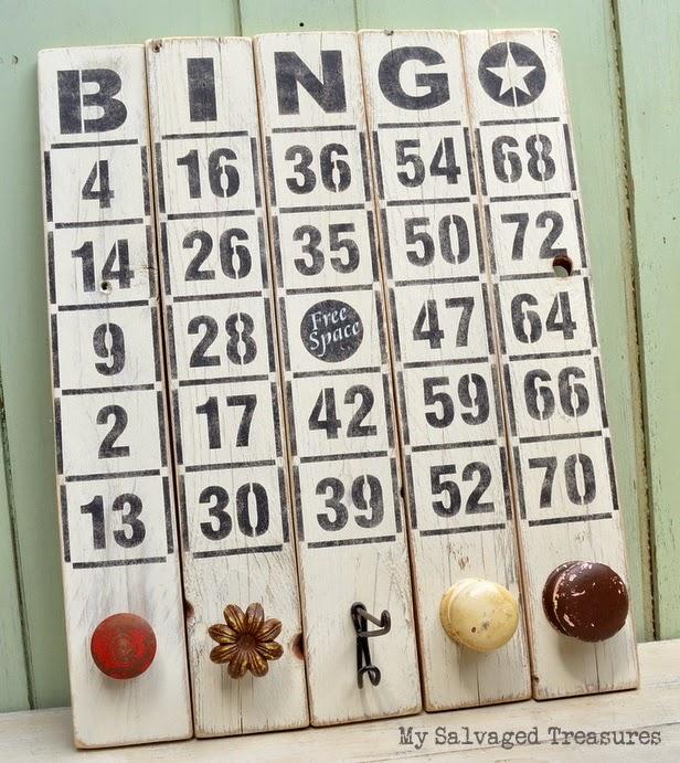 #FunkyJunkInteriors Bingo stencils