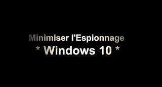 confidentialité et vie privée windows 10