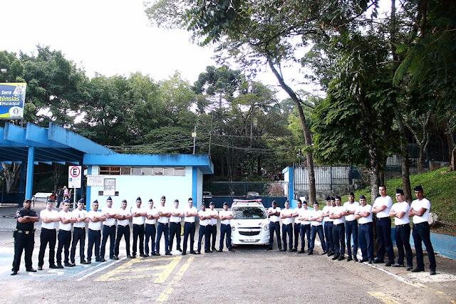 Novos recrutas serão incorporados a GCM de Taboão da Serra