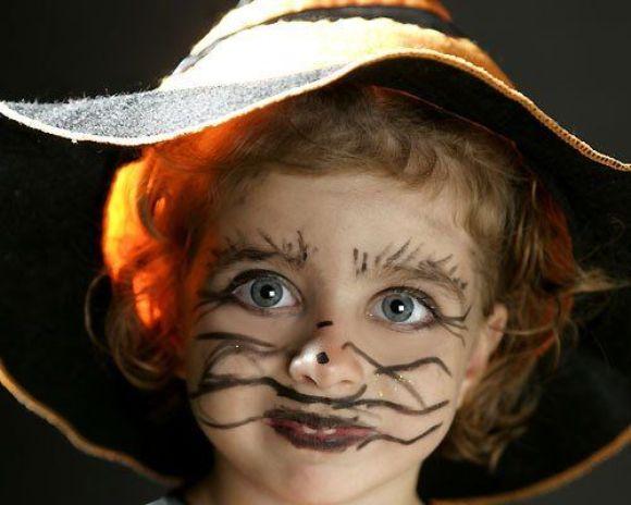 Mundo fili maquillaje apropiado para el halloween de los - Caras de brujas ...