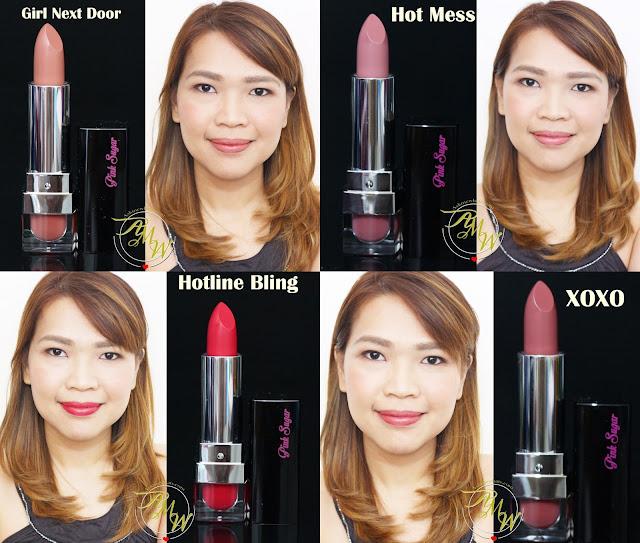 a photo of Pink Sugar Creamy Matte Lipsticks Review