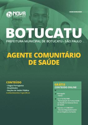 Apostila Concurso Prefeitura de Botucatu 2020 PDF e Impressa Agente Comunitário de Saúde Grátis Cursos Online