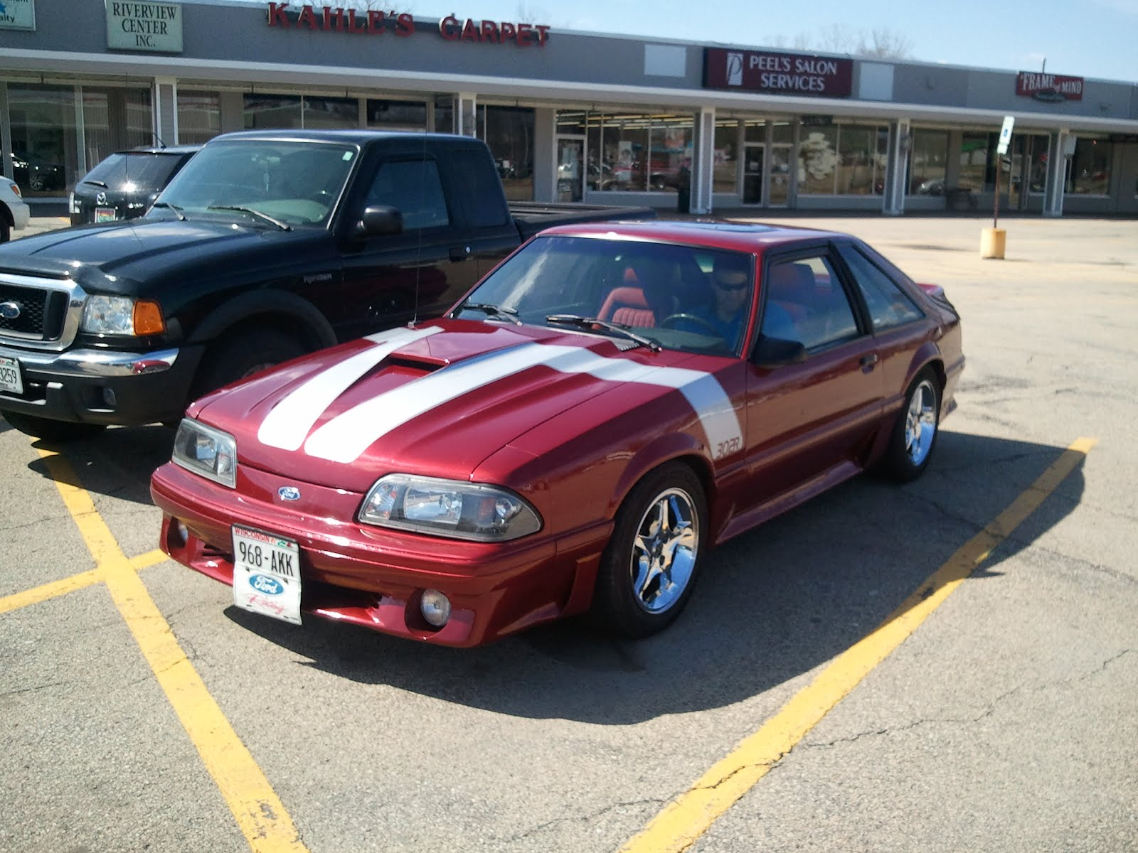 My brothers 1988 gt mustang is for sale