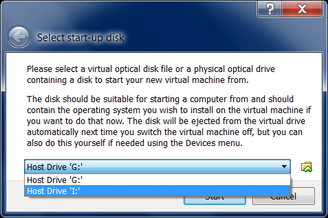virtual box screenshots host drive