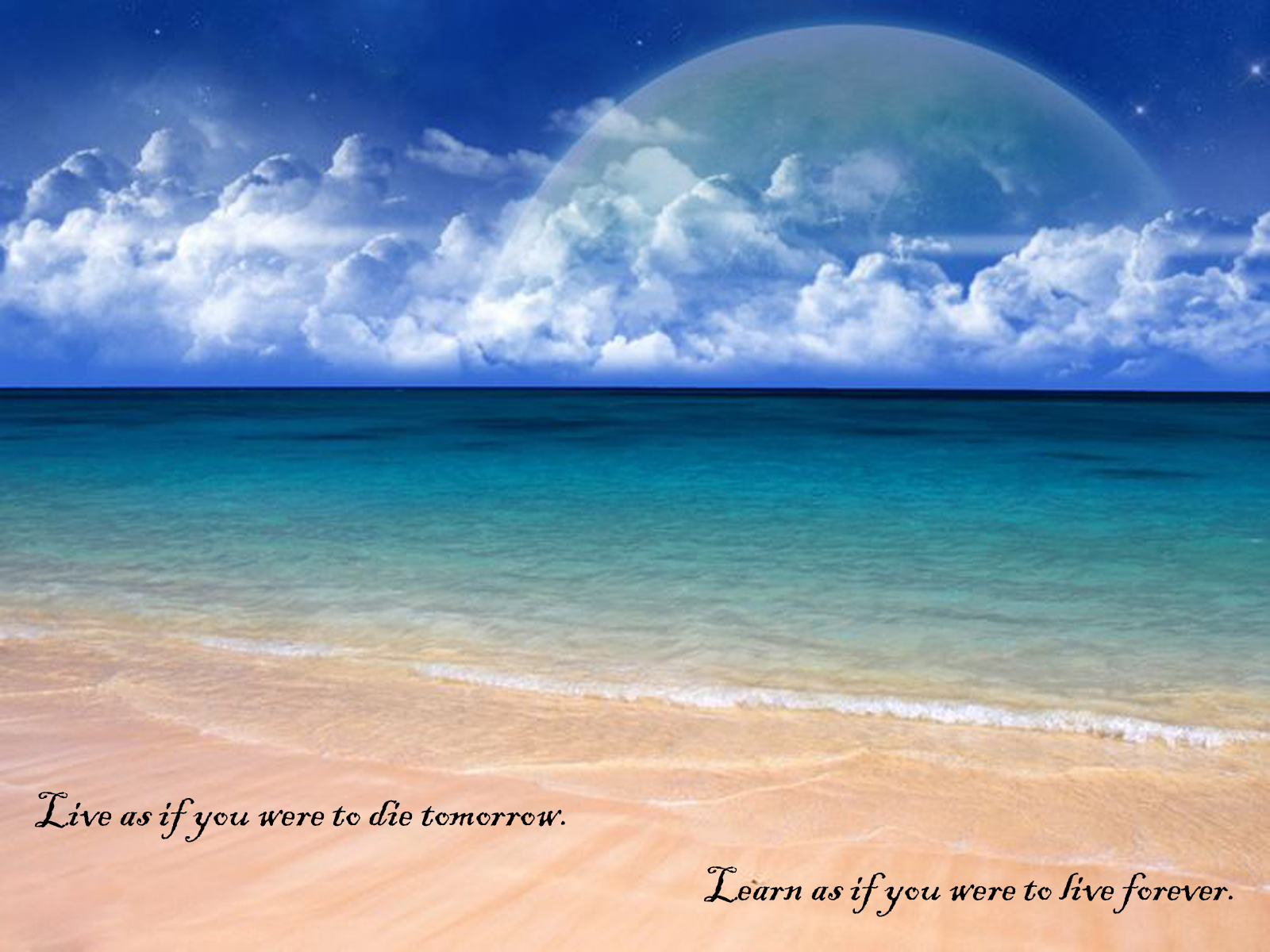 Beach Quotes Wallpaper: Wallpapers: Emotional Quotes