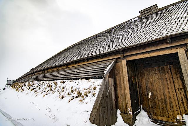 Lofotr Vikingmuseum, entrada, por El Guisante Verde Project