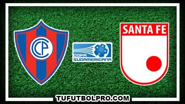 Ver Cerro Porteño vs Independiente Santa Fe EN VIVO Por Internet Hoy 29 de Septiembre 2016