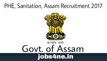 PHE-Sanitation-Assam-Recruitment-2017