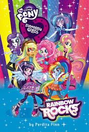 MLP Equestria Girls: Rainbow Rocks Book Media