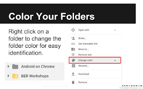 add color to your drive folders.