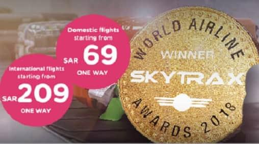 FLYNAS OFFER ON DOMESTIC & INTERNATIONAL FLIGHTS
