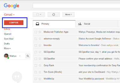 Panduan Lengkap Cara Mengirim Email di Gmail Terbaru 2016