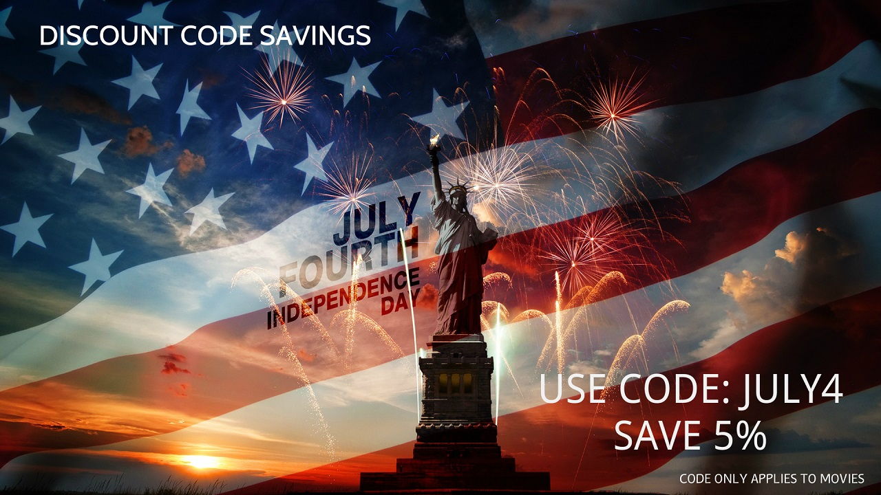 4th of July Independence Day Discount Code Savings