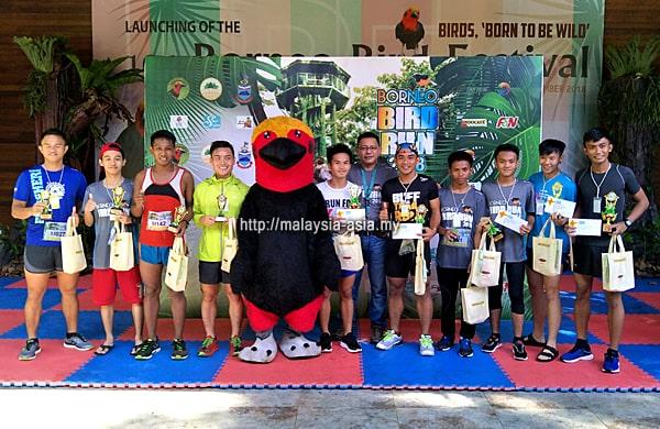 Pemenang 2018 Larian Borneo Bird Festival