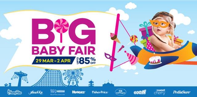 Jom Membeli Belah Di Lazada Big Baby Fair