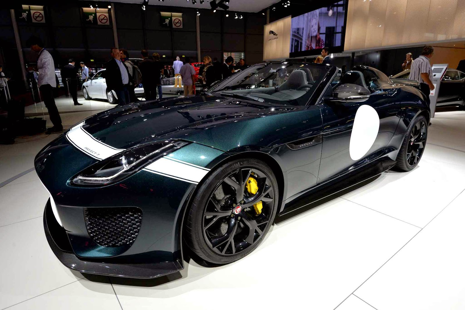 Jaguar Project 7 Car