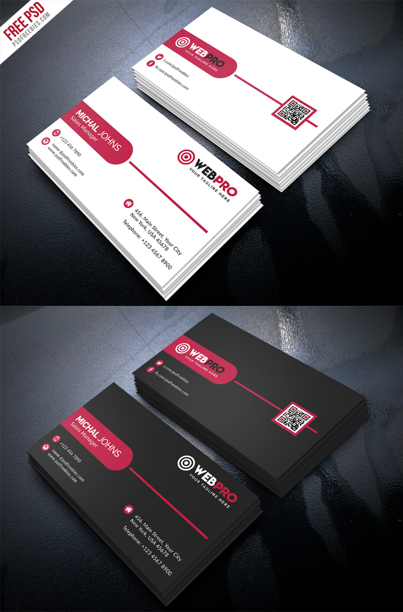 Download Modern Business Card Free Psd Template Free Psd Now