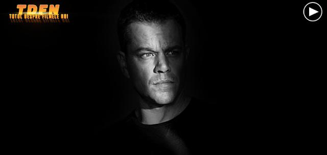 Matt Damon în primul trailer pentru filmul JASON BOURNE