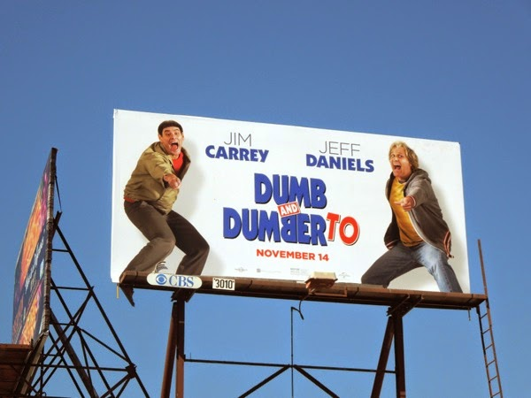 Dumb and Dumber To film billboard