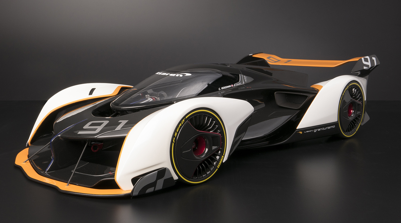 McLaren Ultimate Vision Gran Turismo Comes To Life In 1:8 ...