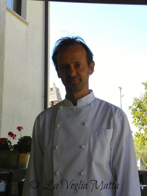 """Emiliano patron della Gran Osteria """"Tre Noci """" a Sistiana (TS)"""