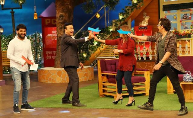 Sonu Nigam, Farah and Anu Malik on The Kapil Sharma Show