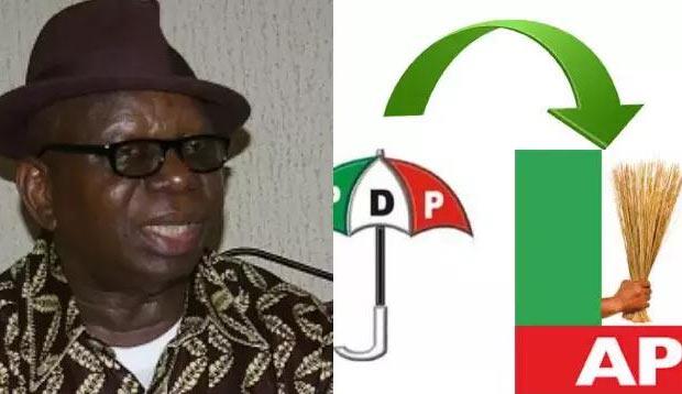 Akwa Ibom senator Etang Umoyo dumps PDP for APC