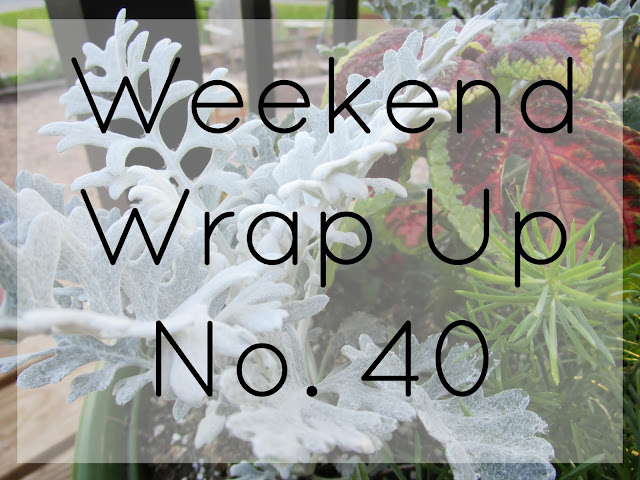 Weekend Wrap Up No. 40 from Courtney's Little Things
